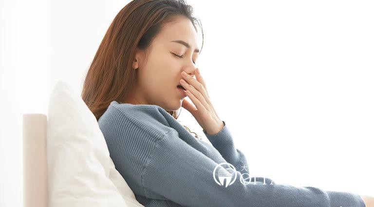 睡眠障害は歯並びが原因